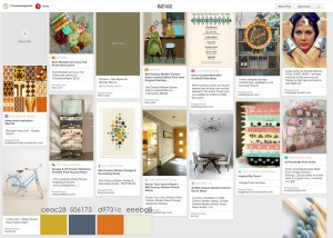 Pinterest Website Inspiration Board